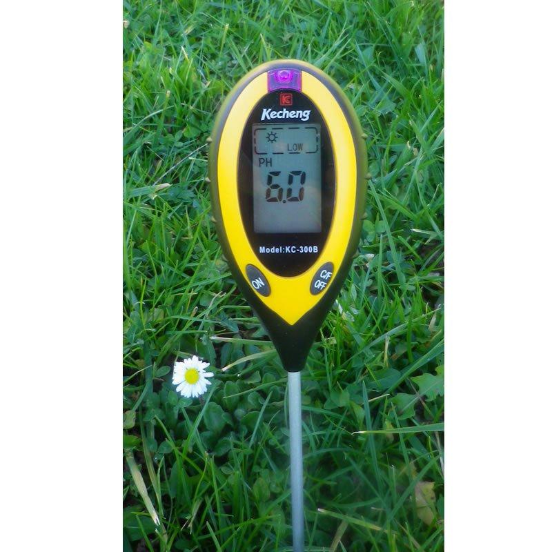 appareil de mesure de ph pour sol 4 en 1 | growland