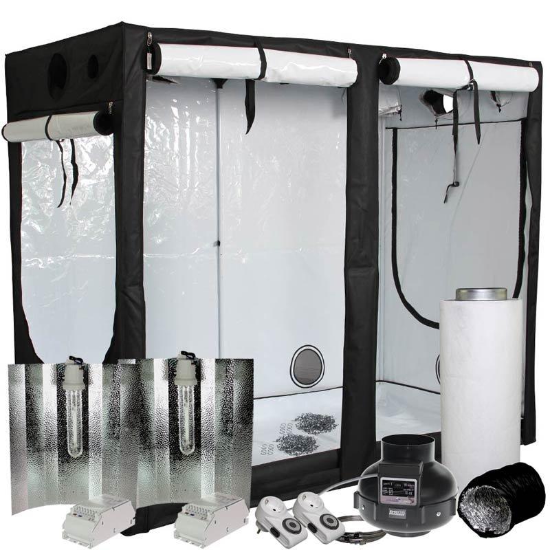 homebox evolution r240 kit de culture 2x600 watts | growland