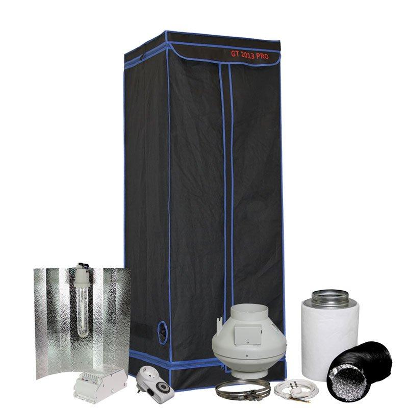 kit de chambre de culture kinggreen 60x60x165cm | 150 watt | growland