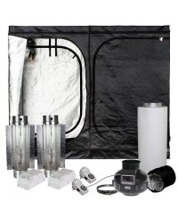 Dark Room II DR240W kit de culture 2x600W Cooltube