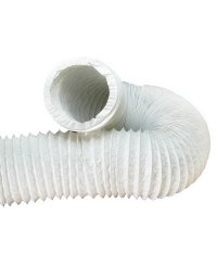 Gaine de ventilation en PVC 200mm mètre courant