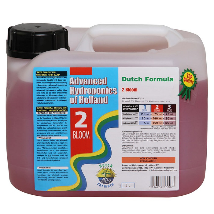 Advanced Hydroponics - Bloom 5 L