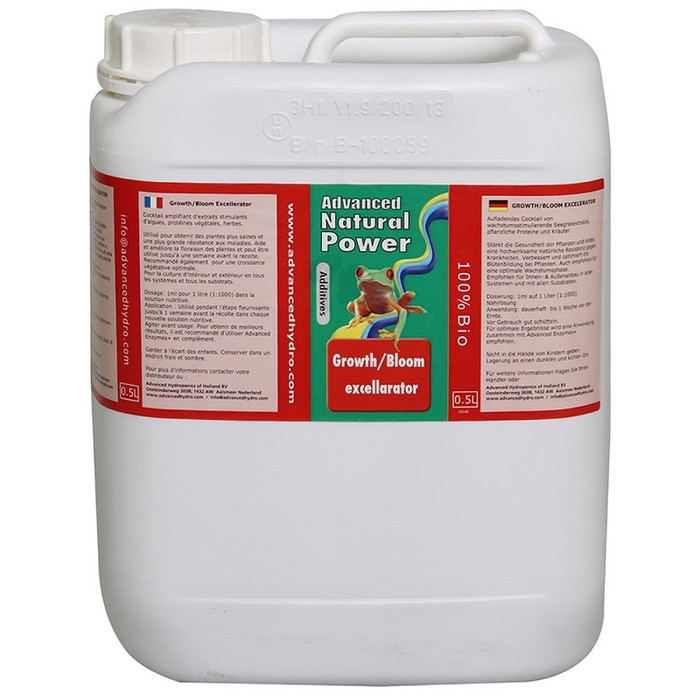Advanced Hydroponics - Growth/Bloom Excellerator. 5L