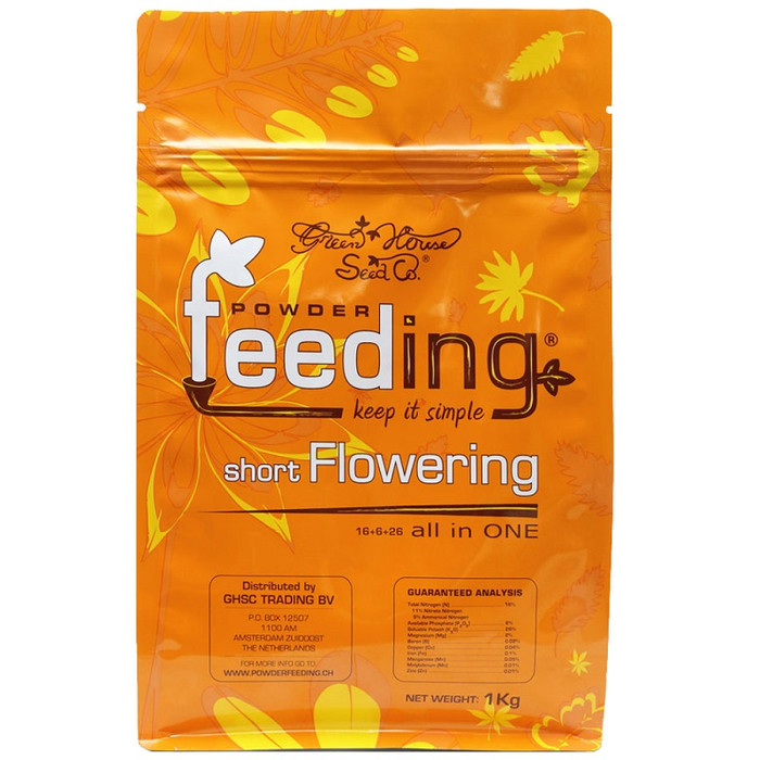 Engrais granulaire 1 kg Powder Feeding short Flowering