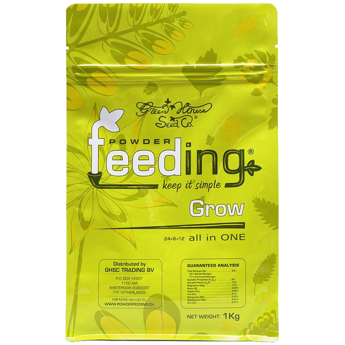 Powder Feeding Grow engrais granulaire 1 kg