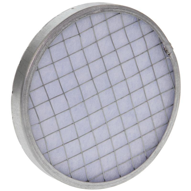 Grille de protection contre les intempéries en chronme-nickel 150mm