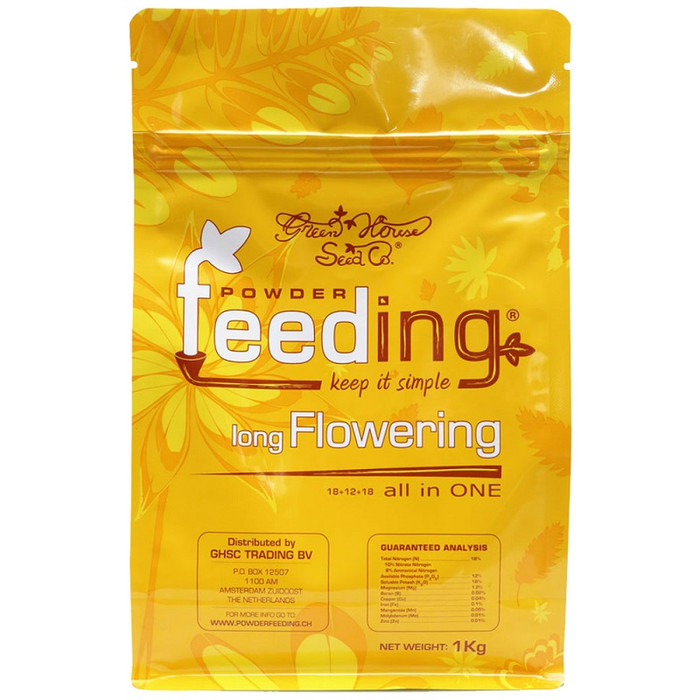 Engrais granulaire 125g Powder Feeding long Flowering
