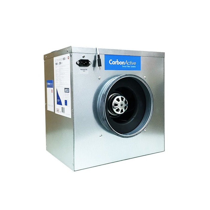 Extracteur silencieux CarbonActive EC Silent Box