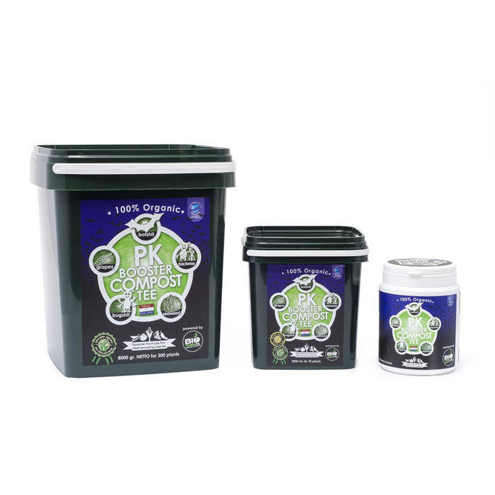 Booster PK thé de compost à 100 % organique