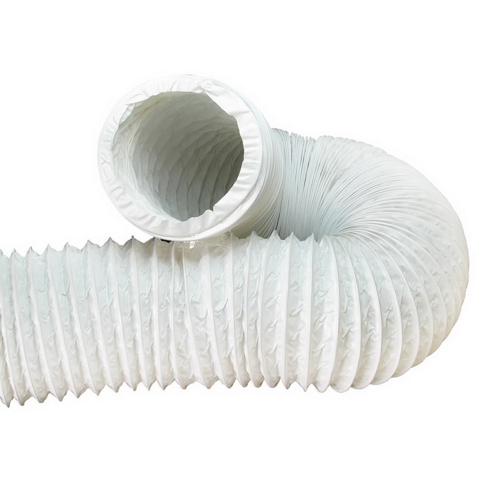 Gaine de ventilation en PVC mètre courant