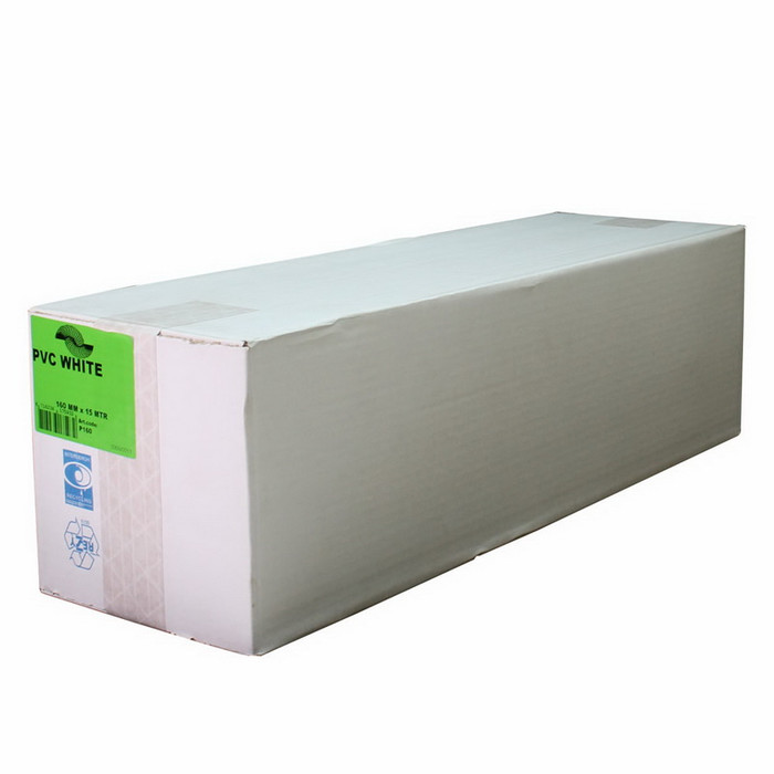 Gaine de ventilation en PVC 160mm longueur 15m